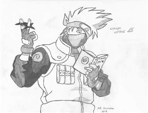 Naruto Kakashi Hatake By Ascended Spartan On Deviantart