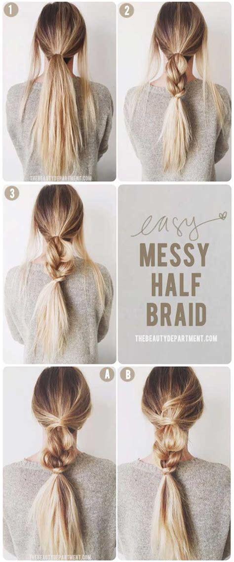 35 best 5 minute hairstyles hairstyles pinterest