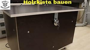 Holztruhe Selber Bauen : wetterfeste kiste zeitungskiste selber bauen diy youtube ~ Frokenaadalensverden.com Haus und Dekorationen
