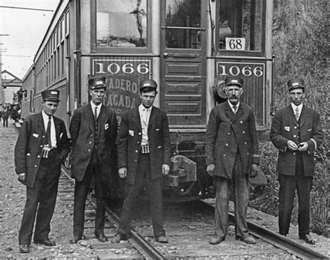 Sellwood Trolley Carmen Of 1910 And A Mystery