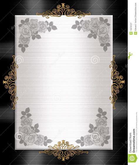 formal invitation template black white royalty  stock