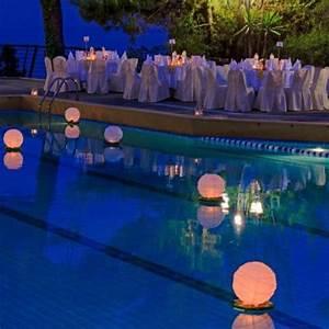 les normes pour leclairage dune piscine With eclairage bord de piscine