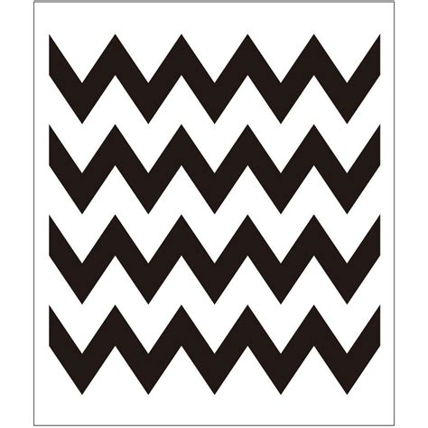 Chevron Template For Painting folkart chevron painting stencils 4382 the home depot