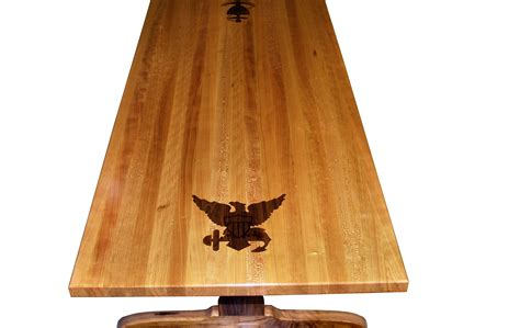 custom wood countertop options inlays  fills