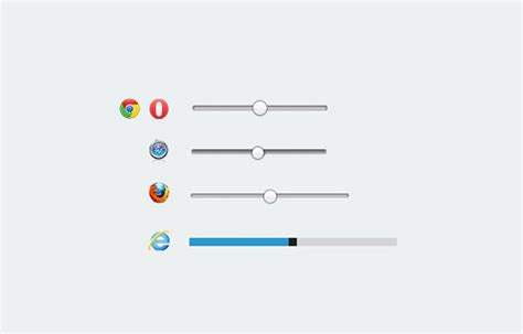 how to style html5 range slider across browsers hongkiat