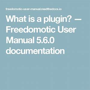 What Is A Plugin   U2014 Freedomotic User Manual 5 6 0