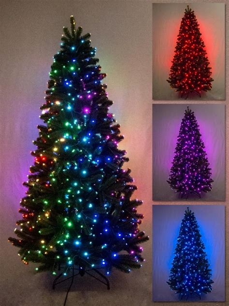 multi colour function dancing light fibre optic tree