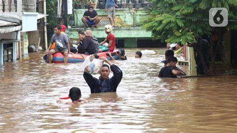 berita banjir bekasi hari  kabar terbaru terkini liputancom