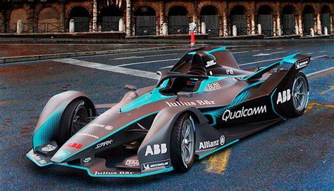 formel e auto formel e zeigt neuen elektroauto renner ecomento de