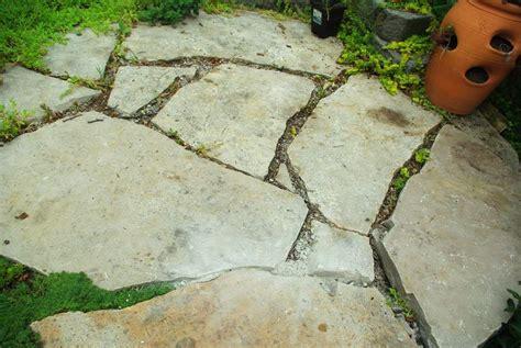 it s not work it s gardening filling flagstone patio cracks