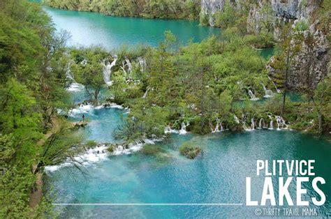 Walking On Waterfalls At Plitvice Lakes Plitvička Jezera