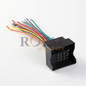 Ewh Car Stereo Wiring Harness For Audi Bmw