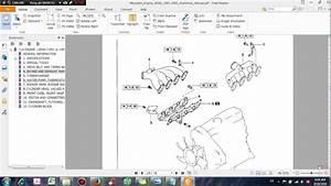 Mitsubishi Diesel Engine Diagram