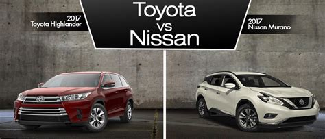nissan highlander toyota highlander vs nissan murano delray beach serving
