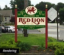 Red Lion, PA Welcome Sign Concept | BMD Design LLC ...