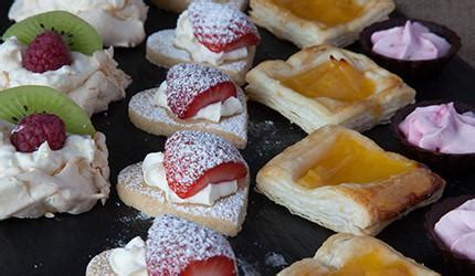 fruit canapes tiny shortcakes with strawberries east neuk cooks