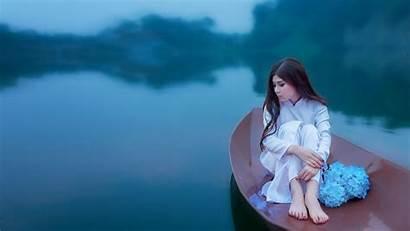 1080p Wallpapers Japanese Boat Lake