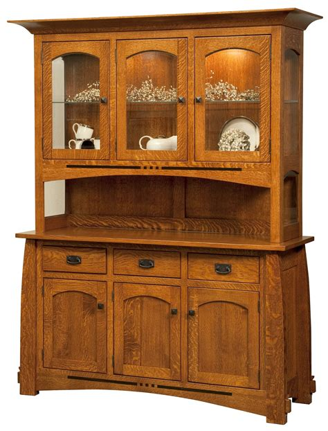 Mission Style Bedroom Dining Room Furniture Hutch Dining