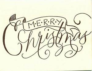 Pin by catherine hardaway on calligraphy pinterest for Merry christmas letter stencils