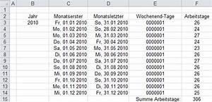Arbeitstage 2012 Berechnen : wie viel arbeitstage hat das jahr die neue funktion ~ Themetempest.com Abrechnung