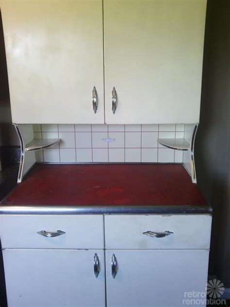 Vintage Youngstown Metal Kitchen Cabinets For Sale by Vintage Youngstown Kitchens Metal Hutch Retro