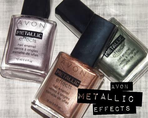 Avon Metallic Effects Nail Enamel