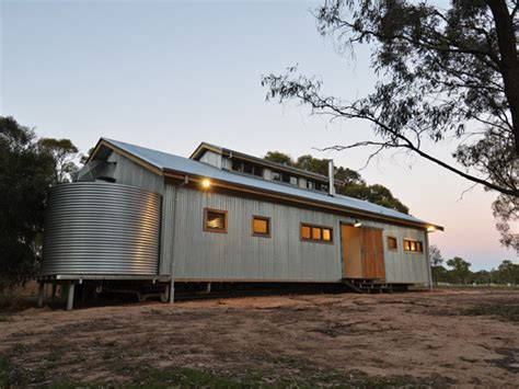 modern iron doors shearing shed house winning homes