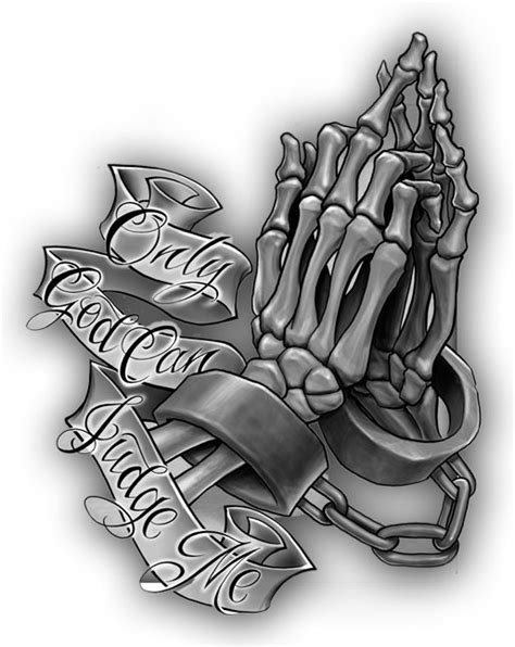 Only God Can Judge Me Tattoo Design | Tattoo designs, Body