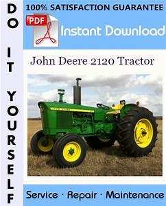 John Deere 2120 Tractor Technical Manual