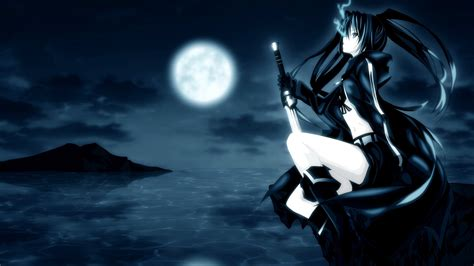 Find images of black anime. 34+ Wallpaper Anime Black Rock Shooter Background - jasmanime