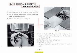 Deluxe Automatic Zigzag  5 Sewing Machine Instruction Manual