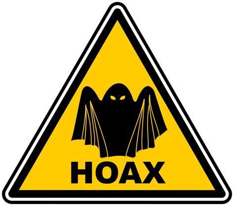 Clipart  Hoax Warning
