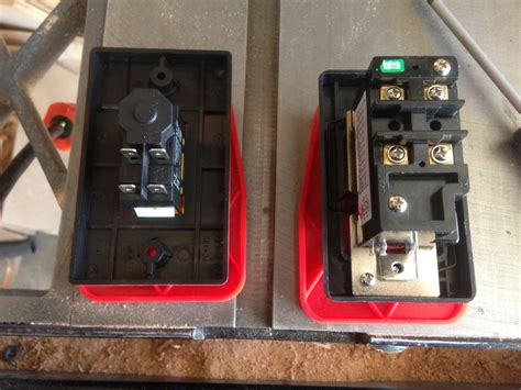 safety switch table saw table design ideas