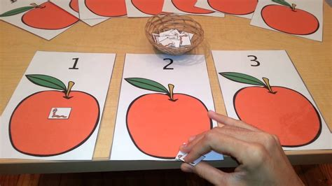 math number quantity activity toddlers preschool