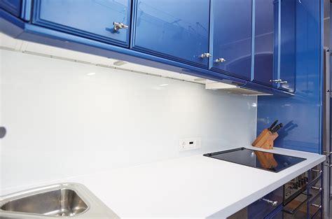 Küche In Blau Weiß  Umbauprojekt  Küchenstudio Elha Service