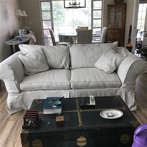 Mitchell Gold Slipcovers by Mitchell Gold 85 Quot Sofa Slipcover