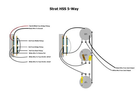 Strat Hss Way Wiring Diagram