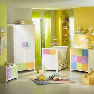 Chambre Bebe Jaune : ambiance chambre b b jaune ~ Nature-et-papiers.com Idées de Décoration