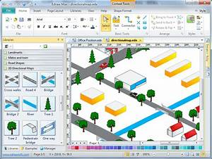 3d Directional Map Software