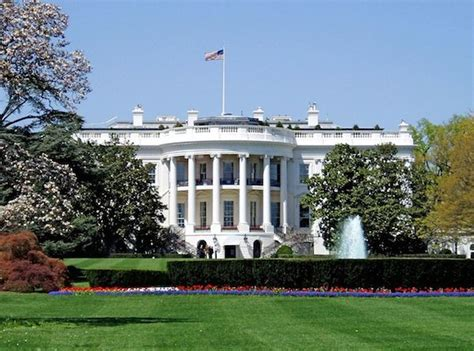 Ron Wilson In The Garden by Man Jumps White House Fence Walks Through Front Door