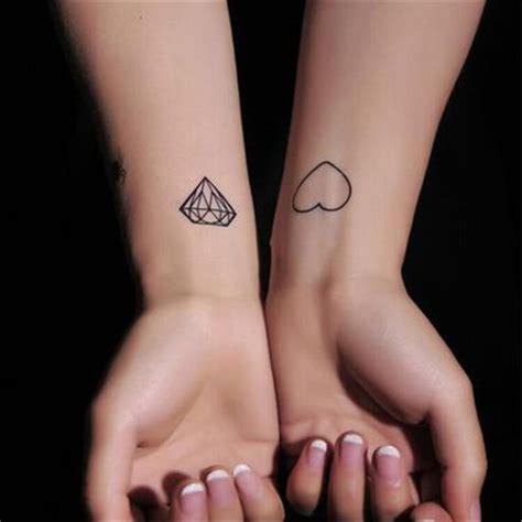 diamant finger originele vinger diamant en hart stickers mooie en waterdicht duurzaam diamant