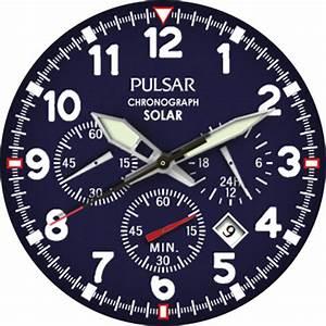 Pulsar Solar  U2013 Watchfaces For Smart Watches