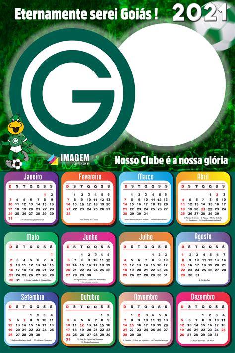 Moldura Calendário 2021 Goiás PNG Imagem Legal em 2020