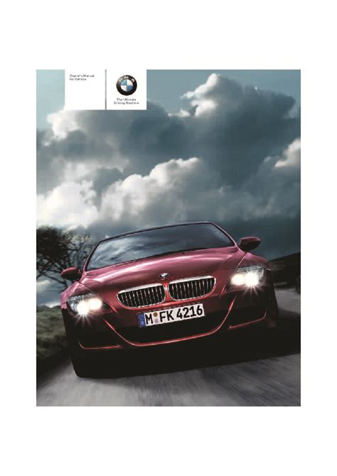 manual repair autos 2008 bmw m6 electronic toll collection 2008 bmw 6 series 650i e63 e64 m6 coupe owners manual