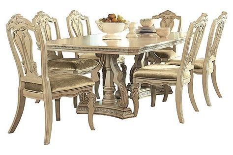 ortanique dining room chairs the ortanique dining table from furniture homestore