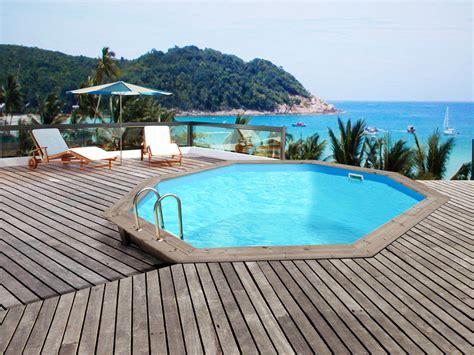 piscine bois himalaya quot 5 60 x 1 29m 51908
