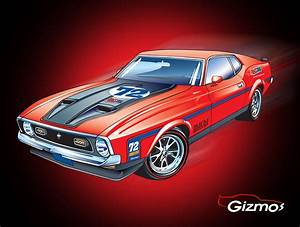 """Fully Modified 1972 Ford Mustang Mach 1 to be Given Away in the AMSOIL """"Devoted to Protection ..."""