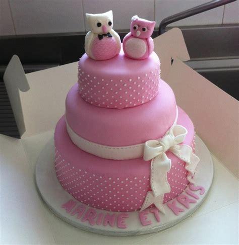 gateau mariage pate a sucre hiboux my wedding cake trucs astuces pour r 233 ussir un wedding