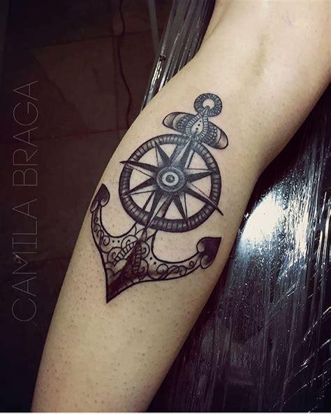 idees tatouage rose des vents cap sur