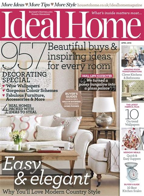 magazine ideal home april 2014 uk read